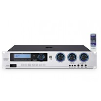 GDHD M2300+ 雙聲道混音功放 四級防嘯叫 (2 x 300W)