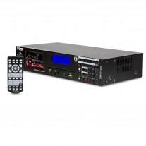 DVD-650MK2 機架式單碟DVD USB SD帶收音播放機