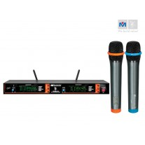 VM-82U G3 DUAL CHANNEL UHF WIRELESS MICROPHONE SYSTEM