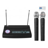 VM-28 DUAL CHANNEL WIRELESS MICROPHONE SYSTEM