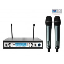 VM-62U BETA DUAL CHANNEL UHF WIRELESS MICROPHONE SYSTEM