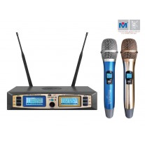 VM-92U G5 DUAL CHANNEL UHF WIRELESS MICROPHONE SYSTEM